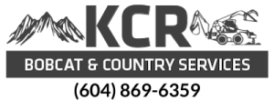 KCR Bobcat & Country Services Phone Number
